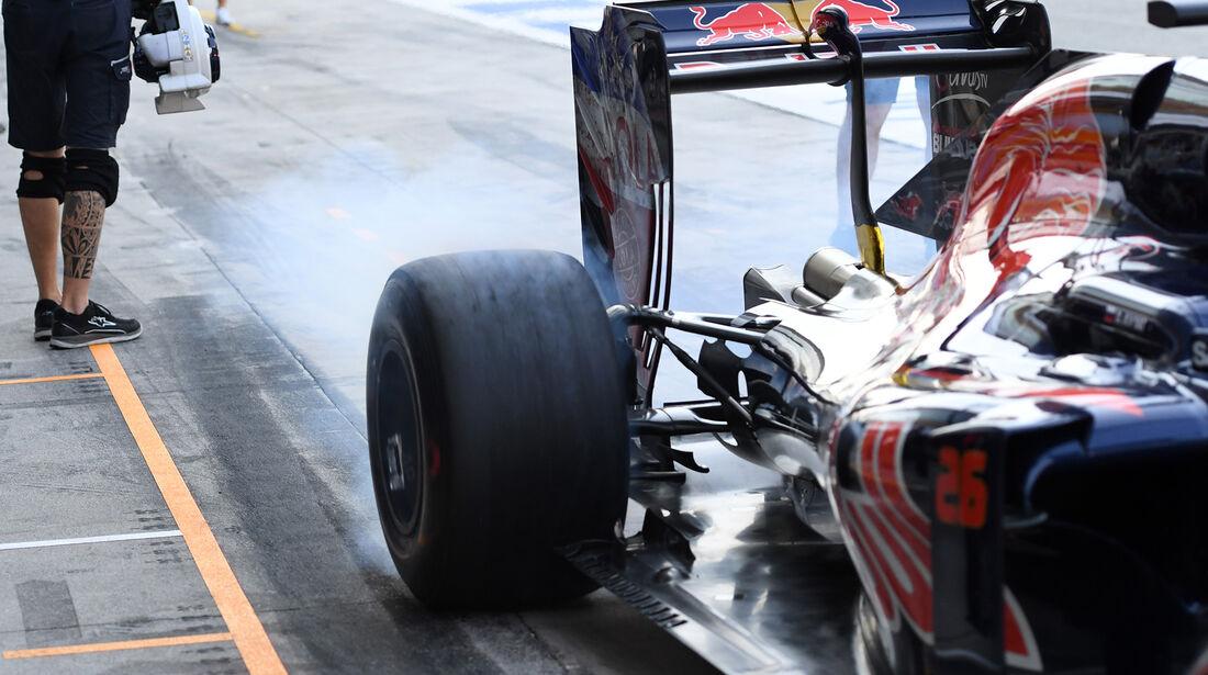 Daniil Kvyat - Toro Rosso - Formel 1 - GP Italien - Monza - 2. September 2016