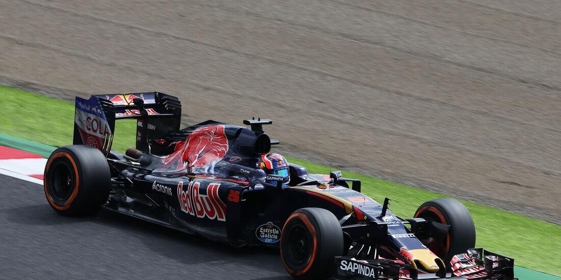 Daniil Kvyat - Toro Rosso - Formel 1 - GP Japan - Suzuka - Freitag - 7.10.2016