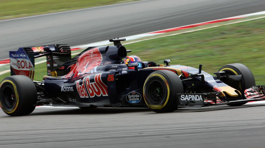 Daniil Kvyat - Toro Rosso - Formel 1 - GP Malaysia - Qualifying - 1. Oktober 2016