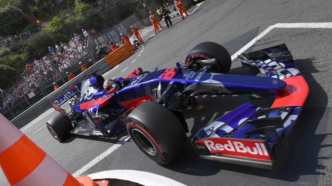 Daniil Kvyat - Toro Rosso - Formel 1 - GP Monaco - 25. Mai 2017