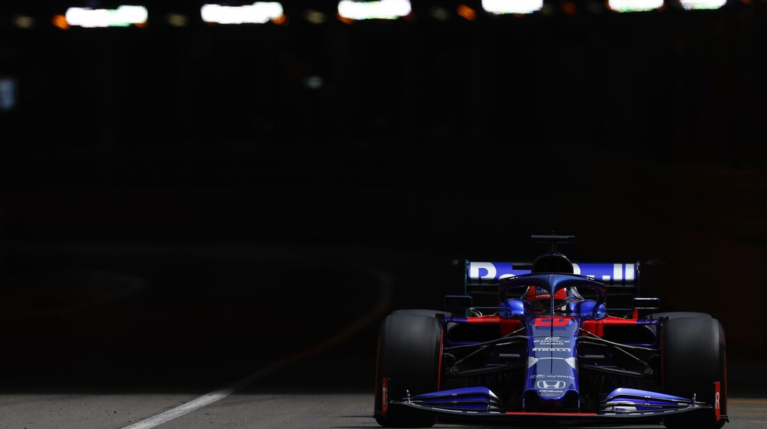 Daniil Kvyat - Toro Rosso - Formel 1 - GP Monaco - 25. Mai 2019