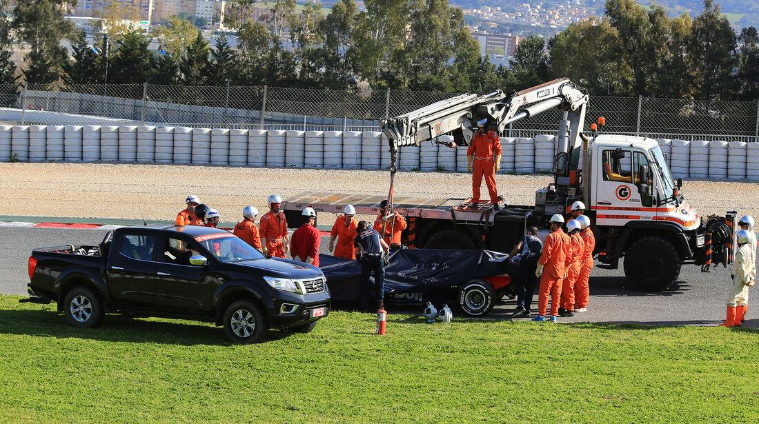 Daniil Kvyat - Toro Rosso - Formel 1 - Test - Barcelona - 9. März 2017