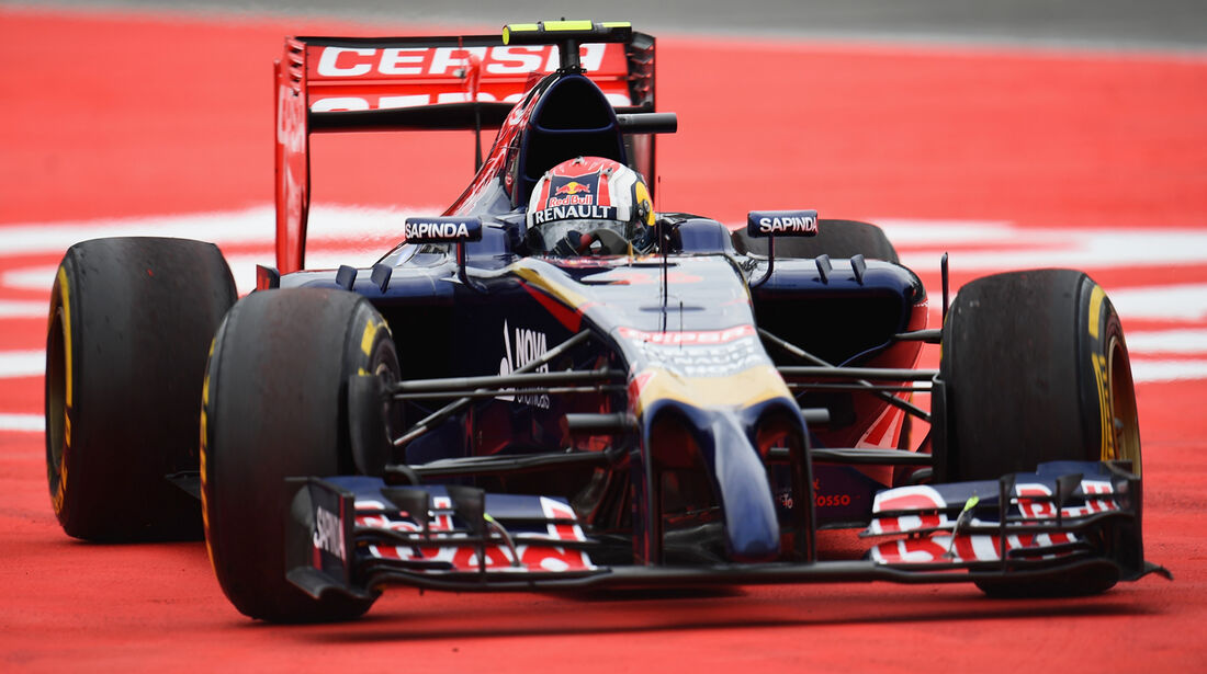 Daniil Kvyat - Toro Rosso - GP Deutschland 2014