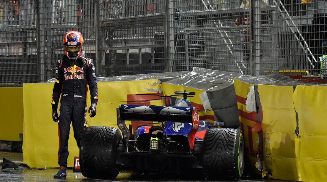 Daniil Kvyat - Toro Rosso - GP Singapur 2017 - Rennen
