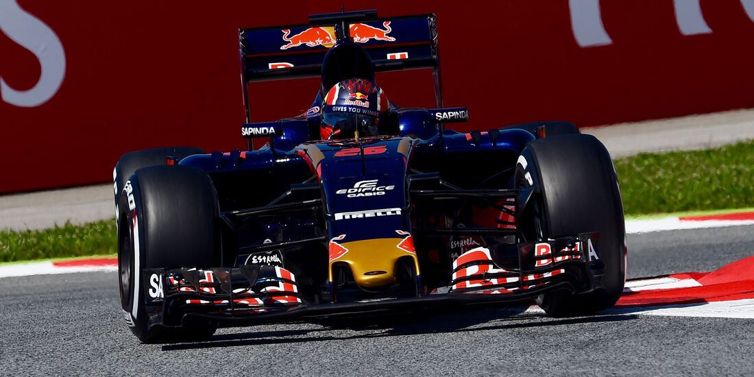 Daniil Kvyat - Toro Rosso - GP Spanien 2016 - Qualifying - Samstag - 14.5.2016