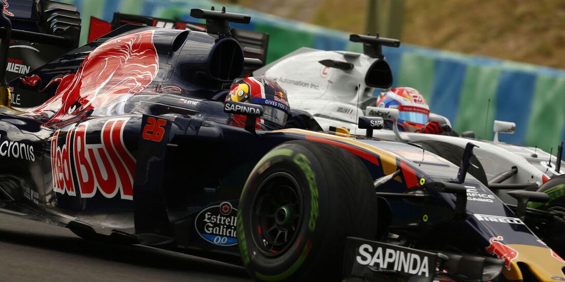 Daniil Kvyat - Toro Rosso - GP Ungarn 2016