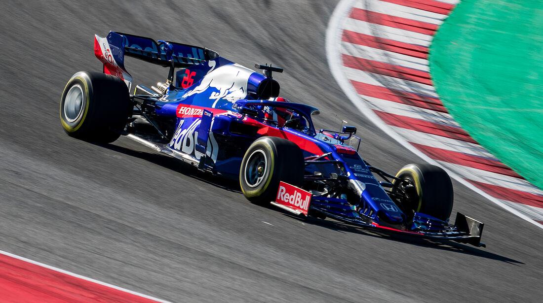 Daniil Kvyat - Toro Rosso STR14 - Shakedown - Misano - Formel 1 - 2019