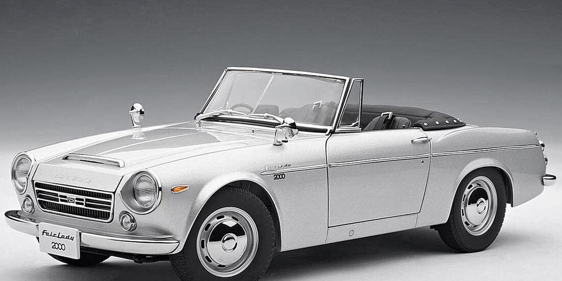 Datsun 1600 Sports, Seitenansicht