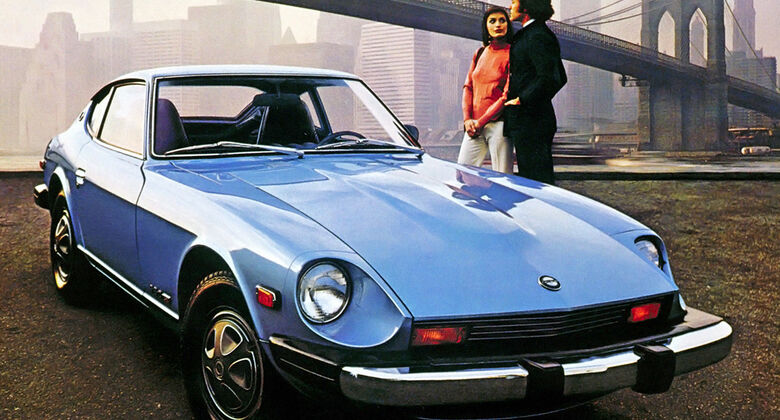 Datsun 260 Z, Seitenansicht