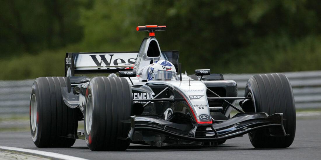 David Coulthard 2004