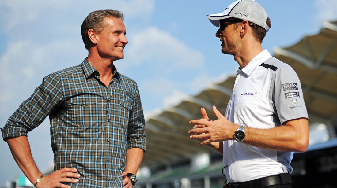 David Coulthard & Jenson Button - Formel 1 - GP Malaysia - 27. März 2014