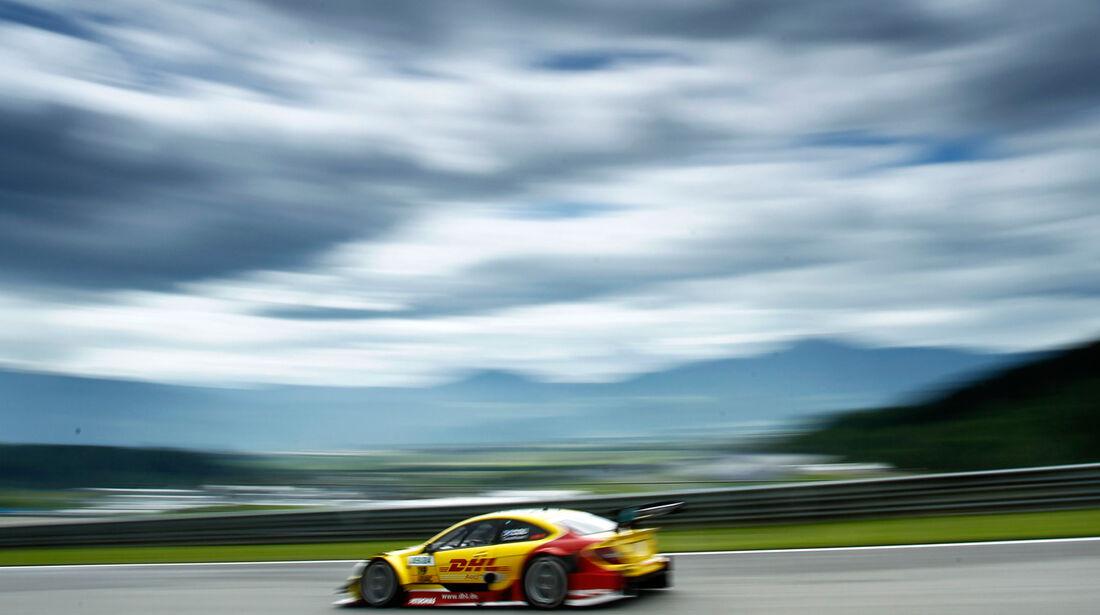 David Coulthard Mercedes DTM Spielberg 2012