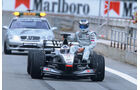 David Coulthard - Mika Häkkinen - McLaren - GP Spanien 2001 - Barcelona