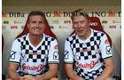 David Coulthard & Mika Häkkinen - Schumacher Benefiz-Fußball-Spiel - Mainz - 27. Juli 2016