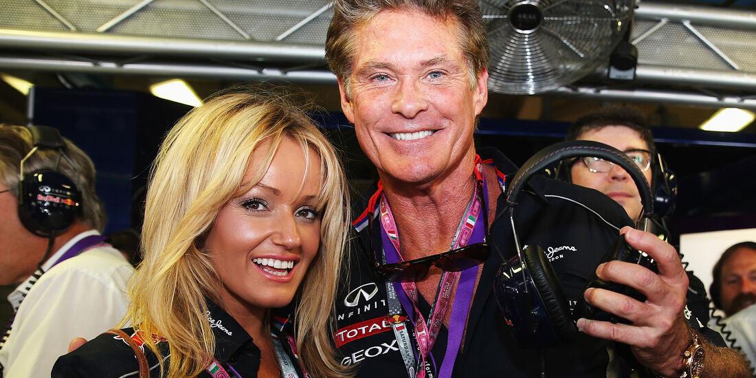 David Hasselhoff - Formel 1 - GP Italien - 7. September 2013