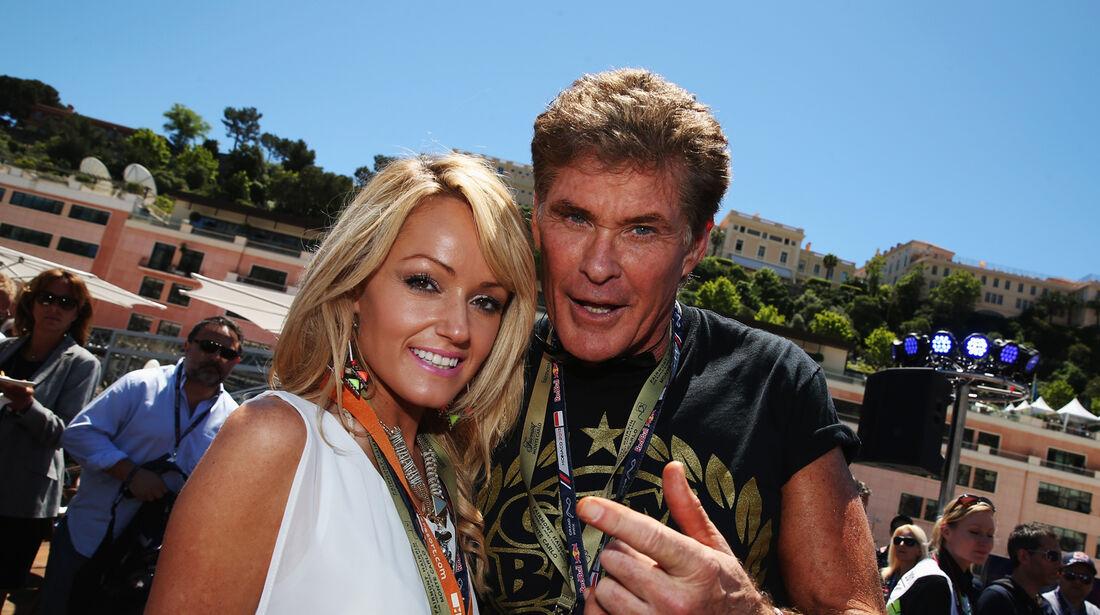 David Hasselhoff - GP Monaco 2013 - VIPs & Promis