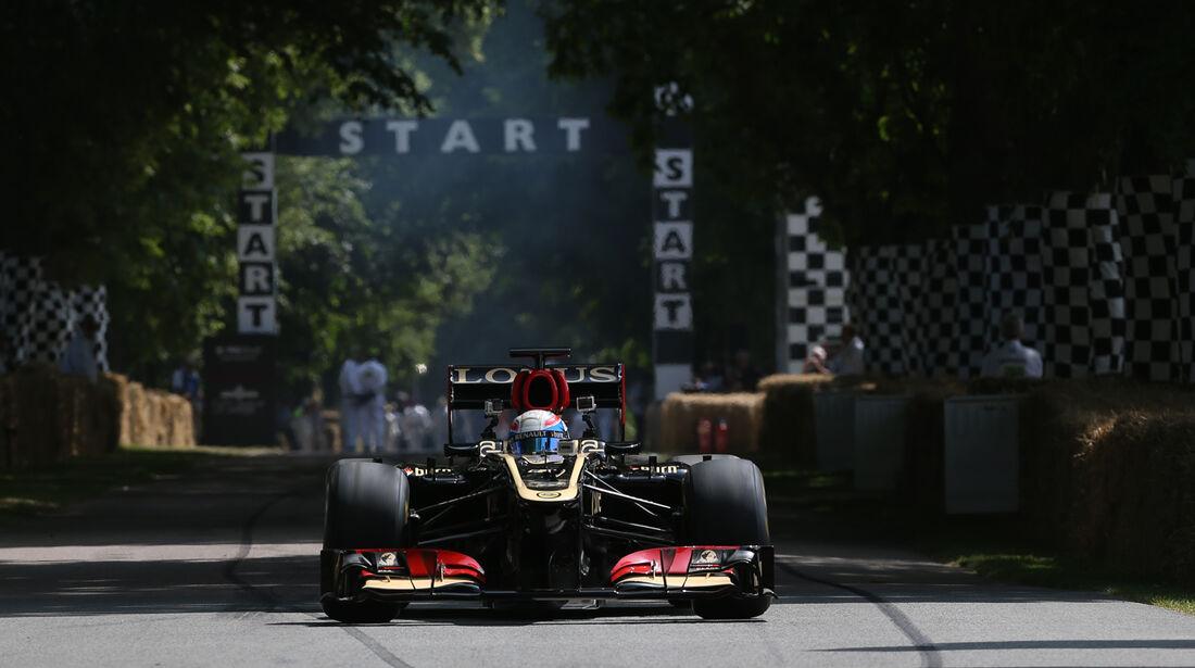 Davide Valsecchi - Lotus E21 - Goodwood 2013