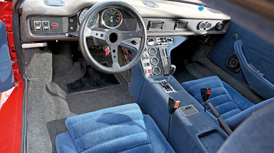 De Tomaso Pantera GR. 4, Cockpit