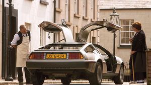 DeLorean DMC 12, Heckansicht