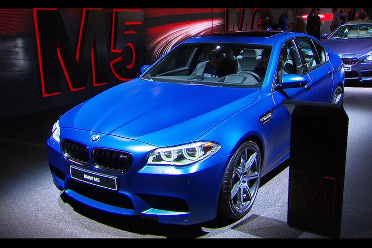 Der BMW M5 Facelift Competition auf der IAA