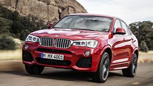 Der BMW X4 ist eines von zwölf neuen Modellen für das Jahr 2014.