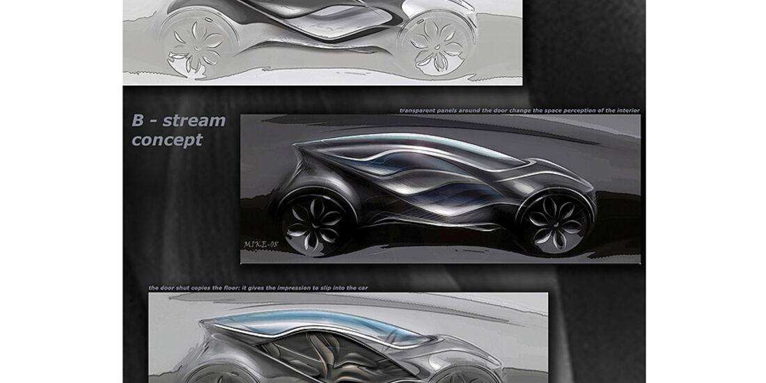 Designskizzen Mazda