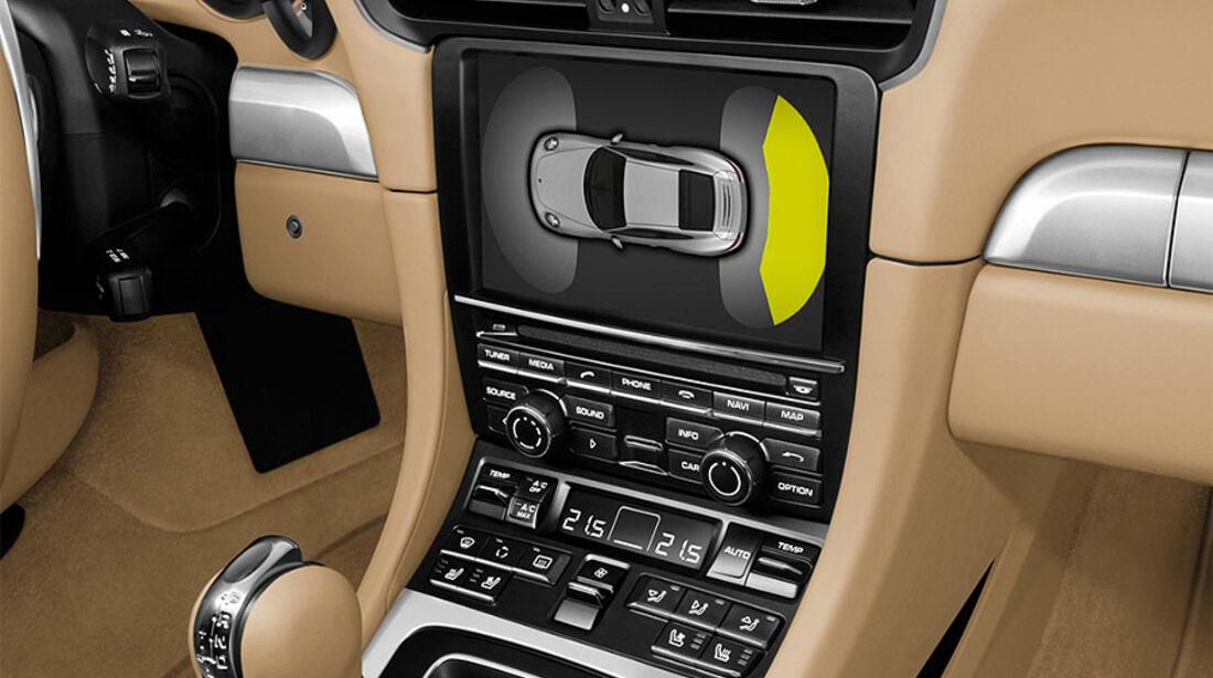 Detail, Parksensoren, Porsche 911 Carrera 991