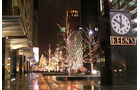 Detroit Einkaufspassage Nacht
