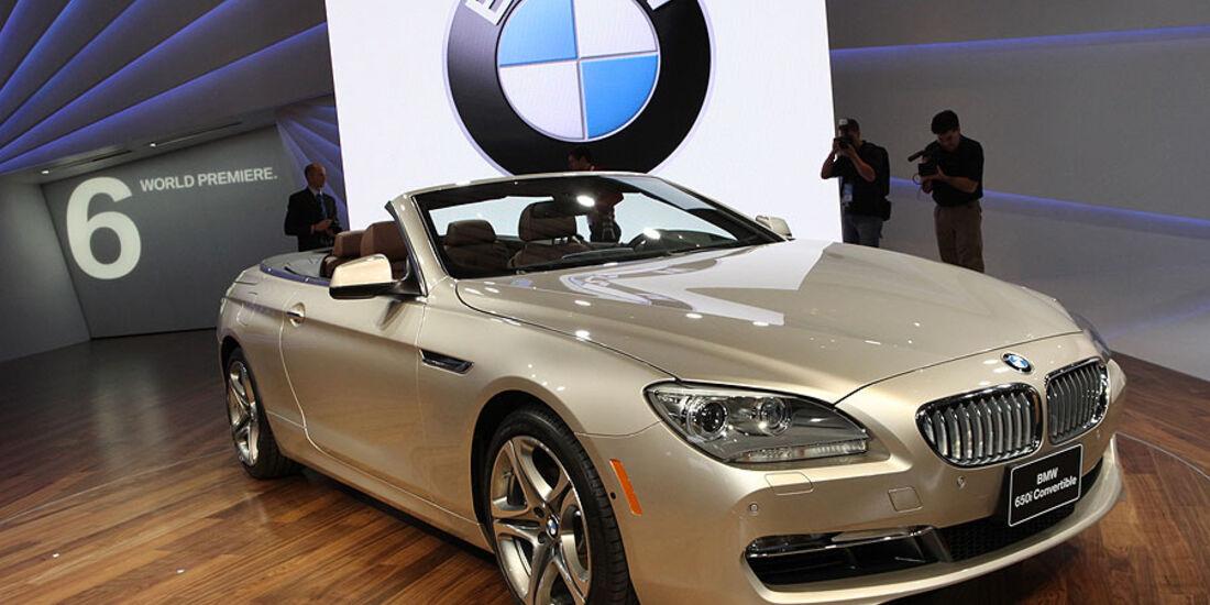 Detroit Motor Show 2011, BMW 6er Cabrio