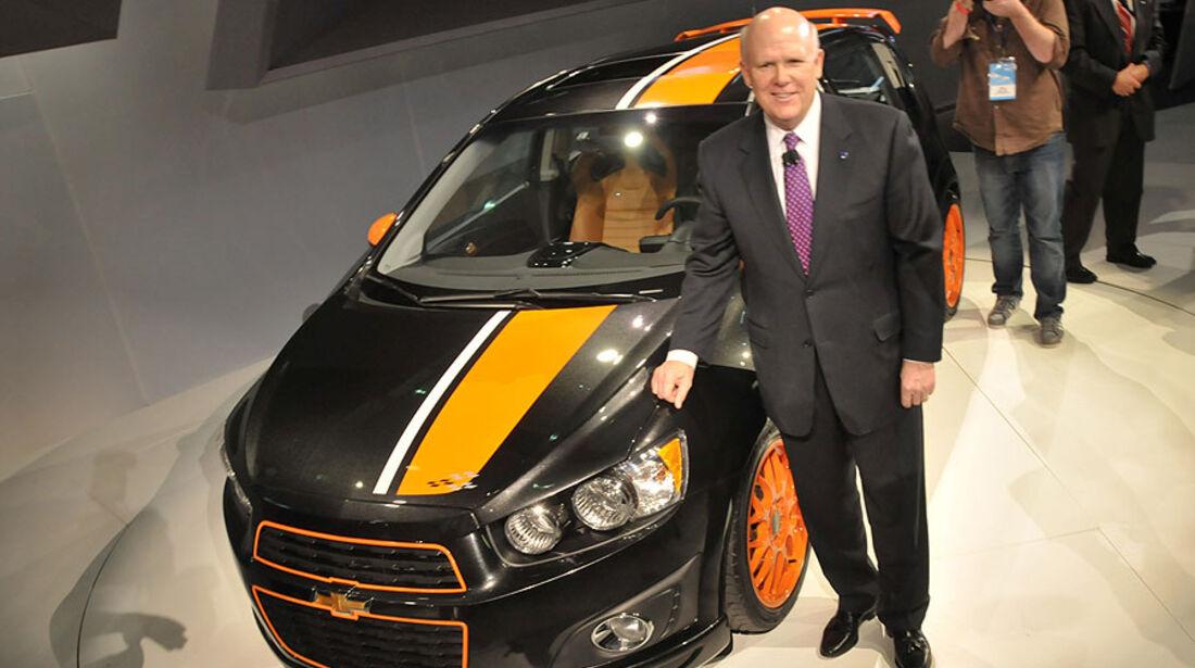 Detroit Motor Show 2011, Chevrolet Sonic
