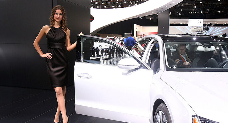 Detroit Motor Show 2011, Girls, Messe-Hostessen