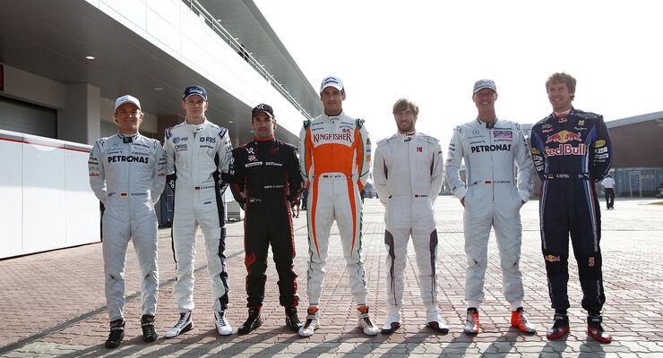 Deutsche Fahrer - GP Korea 2010