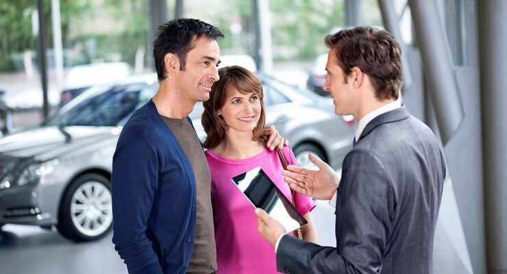 Die Autohändler sind mit dem Geschäftsjahr 2013 zufrieden.