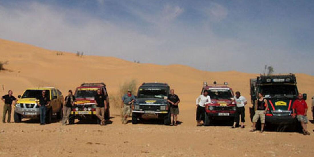 Die Rallye Erg Orientel heißt nun wieder El Chott.