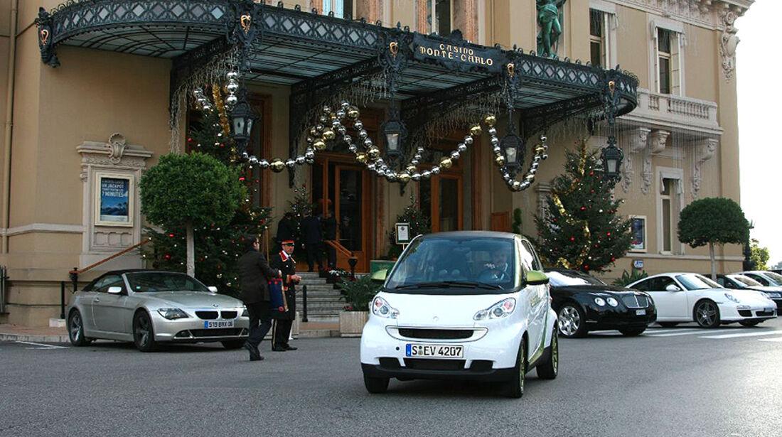 Die Straßen von Monaco