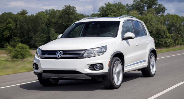 Die größere der beiden Rückrufaktionen betrifft den VW Tiguan.x
