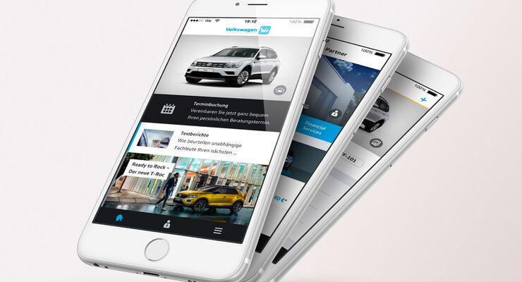 """Die neue ?Volkswagen We""""-App steht ab sofort zum Download zur Verfügung."""
