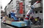 Die schönsten Karnevalswagen 2021