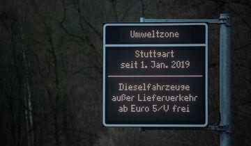Diesel-Fahrverbot Stuttgart