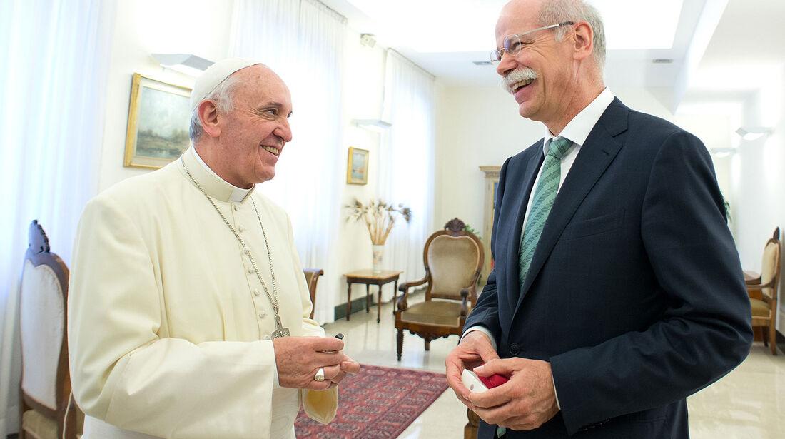 Dieter Zetsche Papst Franziskus