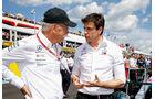 Dieter Zetsche & Toto Wolff - GP Frankreich 2018