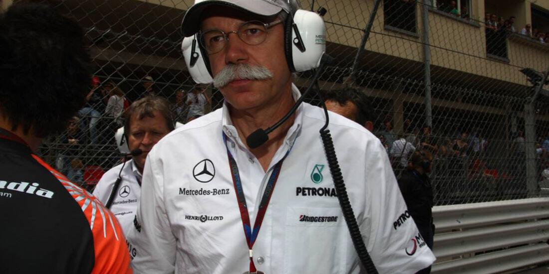 Dieter Zetsche in Monaco