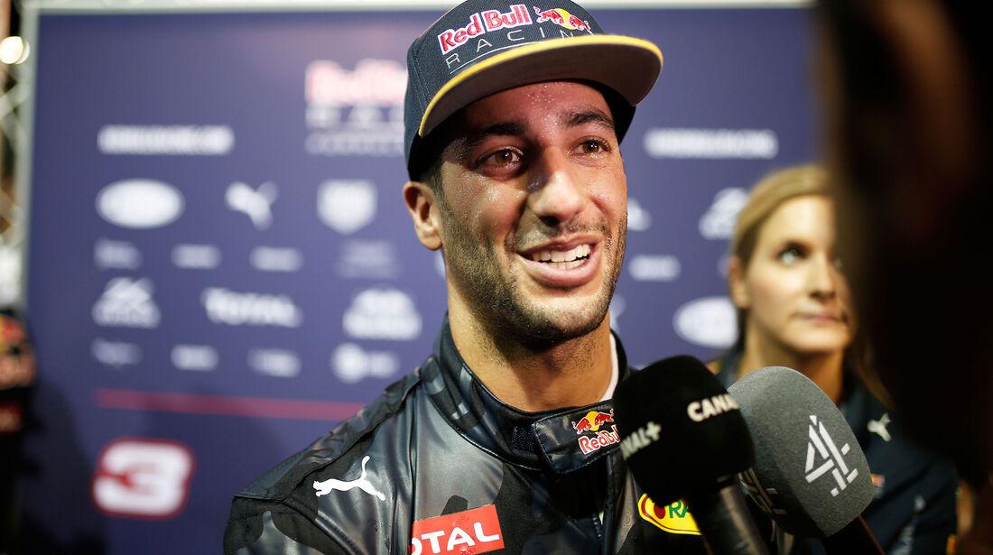 Dnaiel Ricciardo - Red Bull - GP Singapur 2016