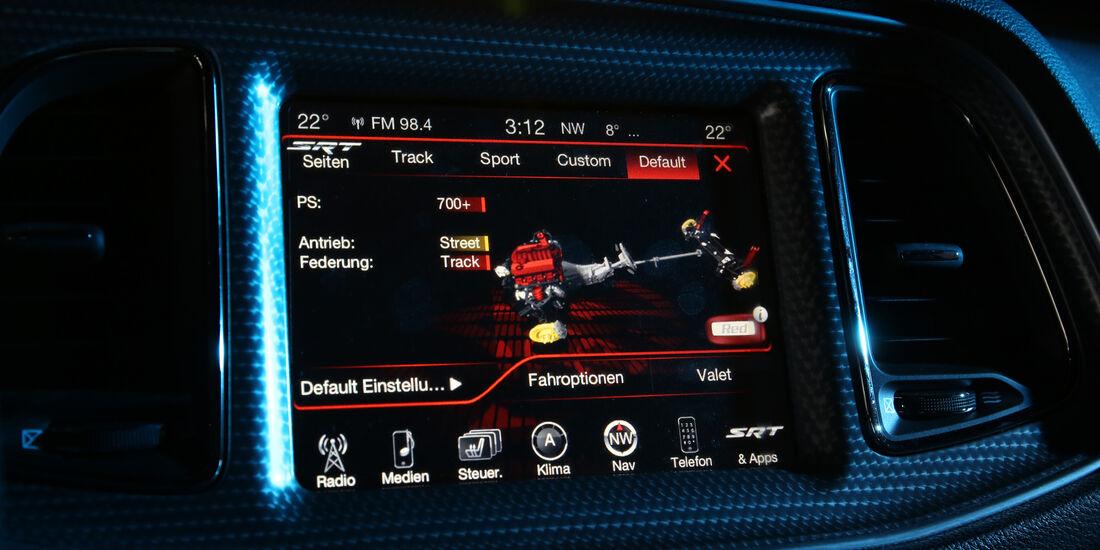 Dodge Challenger Hellcat, Navi, Infotainment, Monitor