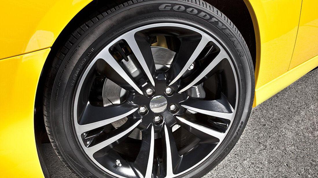 Dodge Charger SRT8 Super Bee, Felge, Bremssattel