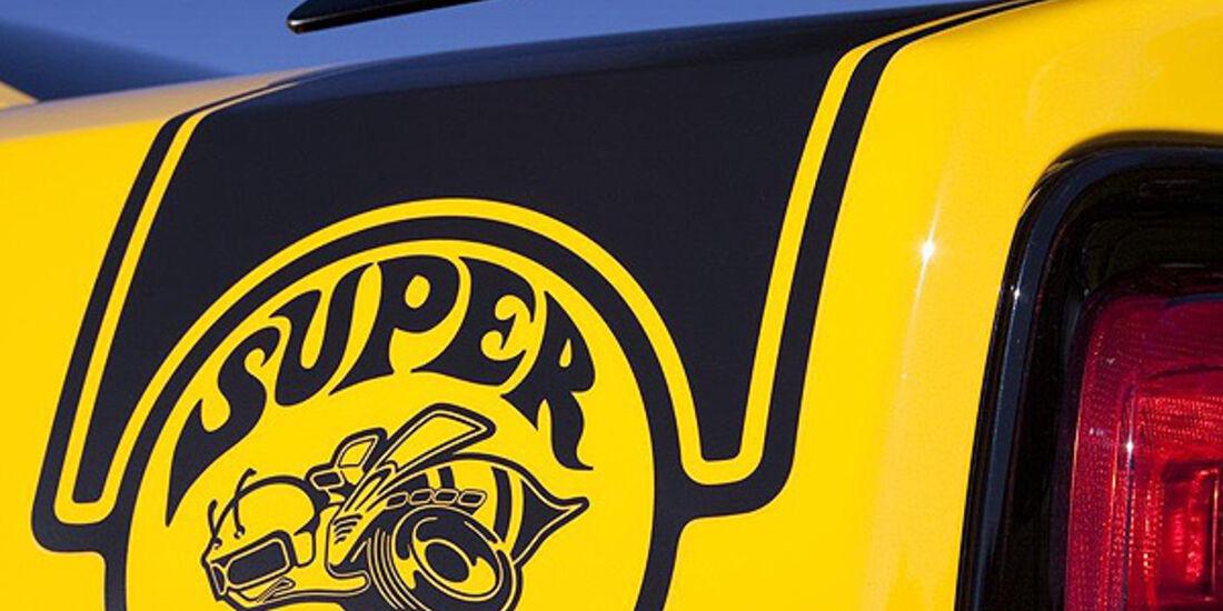 Dodge Charger SRT8 Super Bee, Heck, Spoiler