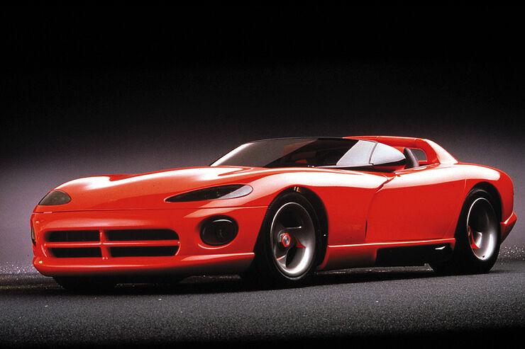 Dodge Viper RT/10 Concept Vehicle. 1989.