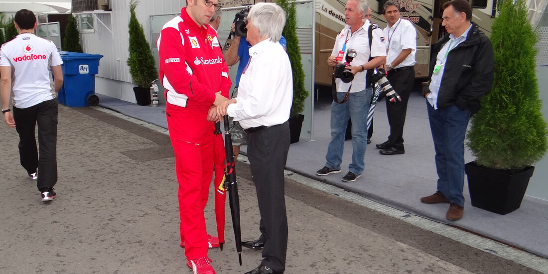 Domenicali & Eccleston - Formel 1 - GP Kanada 2012 - 8. Juni 2012
