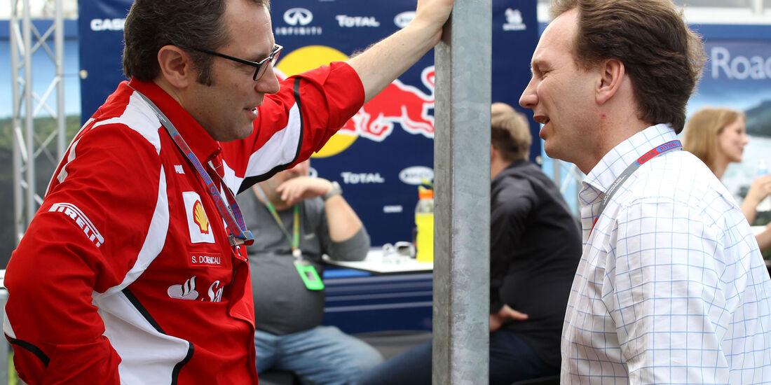 Domenicali & Horner GP Australien 2012