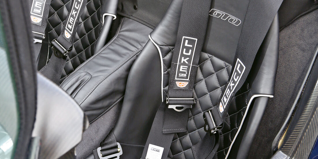 Donkervoort D8 GTO Performance, Fahrersitz